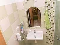 koupelna pokoj č.3 - pronájem chalupy Vojnův Městec
