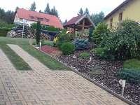 Chata ubytování v obci Vestecká Lhotka
