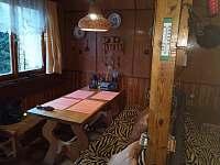 Jídelní kout - chata k pronájmu Škrdlovice - Velké Dářko