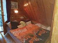 Ložnice- dvojlůžko - pronájem chaty Škrdlovice - Velké Dářko