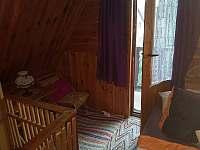 Ložnice jiný pohled - chata k pronájmu Škrdlovice - Velké Dářko