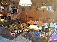 Společenská místnost - chata k pronájmu Škrdlovice - Velké Dářko