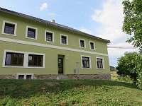 pohledn z údolí - ubytování Jimramovské Pavlovice