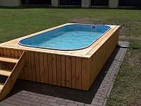 venkovní bazén - Jimramovské Pavlovice