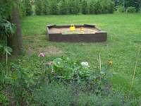pískoviště v zahradě