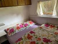 ložnice - chata ubytování Svatojánské Lázně