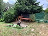 ohniště - chata k pronájmu Svatojánské Lázně