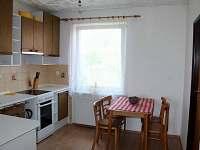 Apartmán - kuchyně