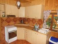 kuchyňský kout - chata k pronájmu Světnov