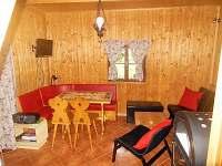 obývací pokoj - chata k pronajmutí Světnov