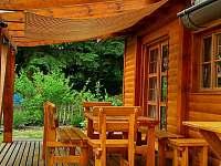 Zastínění pergola - chata ubytování Světnov