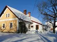 Chalupa Sedmička v zimě