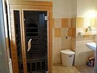 koupelna, sauna- přízemí - Hněvkovice u Ledče nad Sázavou