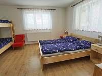 první pokoj přízemí - Hněvkovice u Ledče nad Sázavou