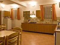 Společné prostory - apartmán ubytování Vlčatín