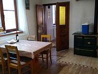 kuchyn - pronájem chalupy Trebelovice