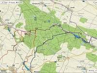 mapa cyklo