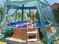 Novy bazen na zahrade - Trebelovice