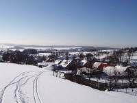Jiříkovice v zimě -
