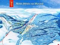 Mapa - pronájem chalupy Jiříkovice