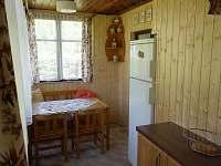 Jídelna - chata ubytování Bartoušov