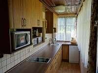 Kuchyň - chata k pronajmutí Bartoušov