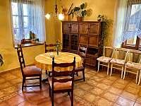 jídelna - chalupa ubytování Řásná