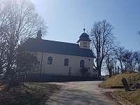 Místní památka - kostel - Nové Město na Moravě - Olešná