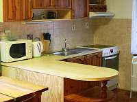 Kuchyňská linka - pronájem chalupy Kouty u Ledče nad Sázavou