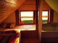 Galerie k relaxaci - chalupa ubytování Lesonice