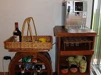 Bar a kávovar - chalupa k pronájmu Litkovice u Žirovnice