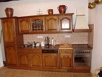 Kuchyně - chalupa k pronajmutí Litkovice u Žirovnice