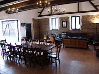 Společenská místnost 6 - chalupa ubytování Litkovice u Žirovnice