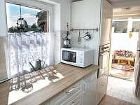 kuchyň - pronájem chalupy Štěměchy
