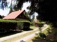 Příjezd k chatě