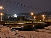 most a sjezdovka v Dalečíně -