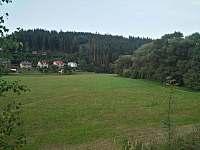 výhled z našeho balkonu - Dalečín