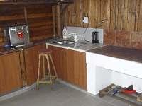 Kuchyň - chata k pronajmutí Horní Libochová