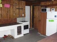 Kuchyň - chata k pronájmu Horní Libochová