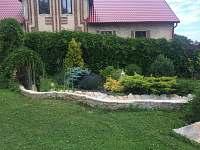 pohled na okrasnou zahradu