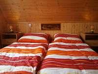 ložnice - pronájem chaty Skála u Havlíčkova Brodu