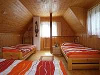 ložnice - chata ubytování Skála u Havlíčkova Brodu