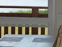 Půda č. 2 - výhled z okna - Dobrá Voda