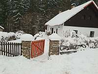 Leden 2019 - pronájem chalupy Libice nad Doubravou