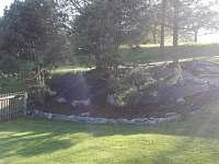 Částečná úprava okrasné zahrady