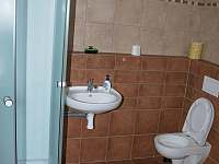 Spodní koupelna se sprchou - Telecí u Poličky