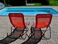 Relax u bazénu