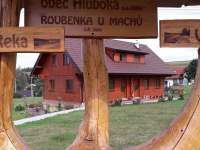 Roubenka - srub k pronájmu Hluboká u Krucemburku