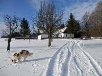 Chalupa v zimě - Dědová