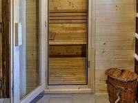 Finská sauna - chalupa k pronájmu Rváčov